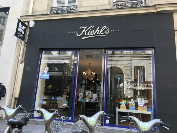 boutique kiehl's Faubourg Saint honoré