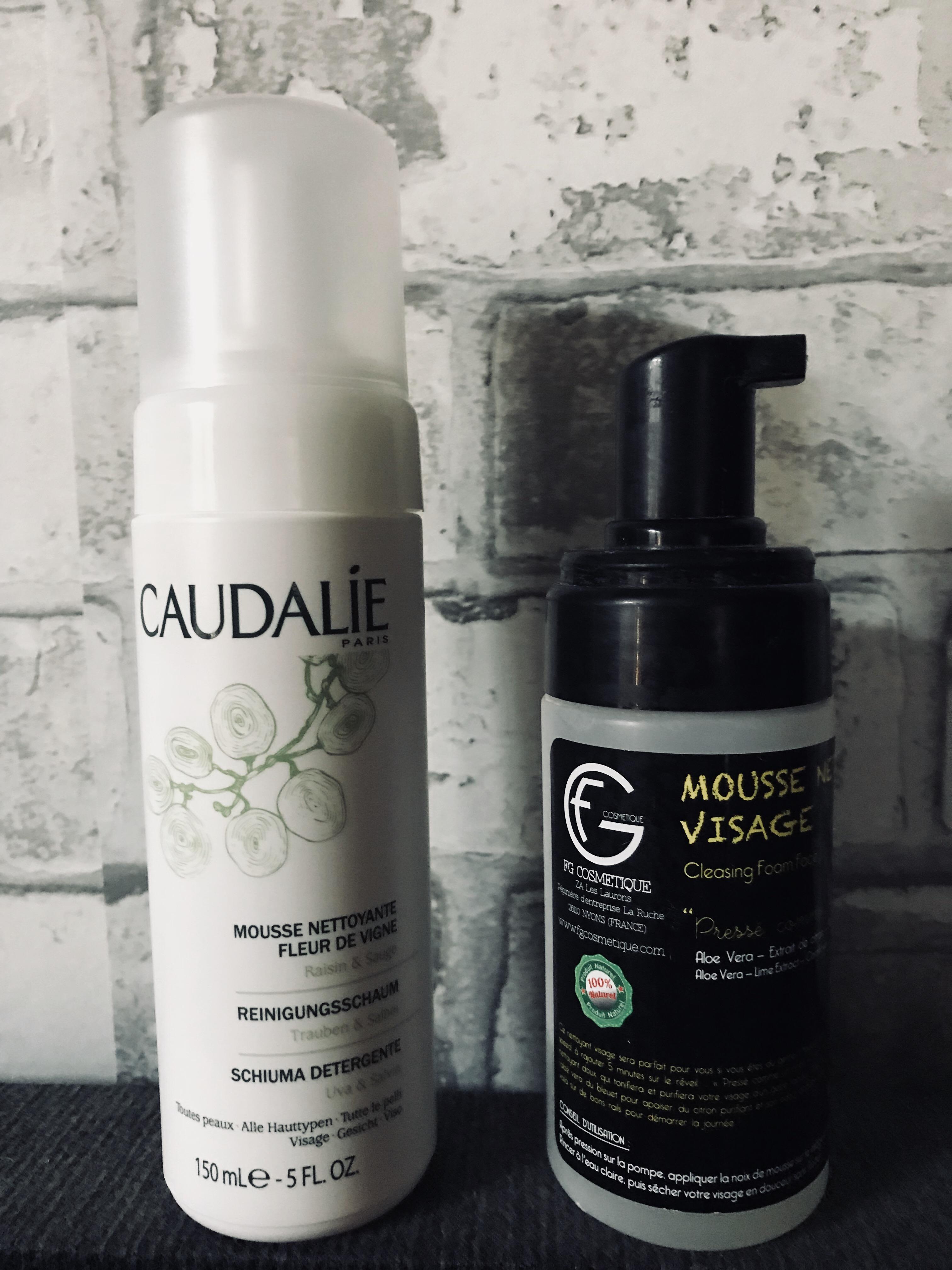 FG cosmétique VS CAUDALIE