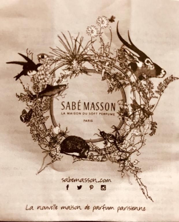 Parfum solide Sabe Masson